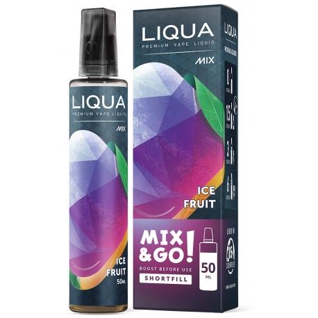 E-liquide Liqua 50 ml Mix & Go Fruit Glacé / Ice Fruit - LIQUA