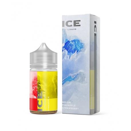 Differ - E-liquide Ice 60 ml Melon & Pineapple & Strawberry - LIQUA