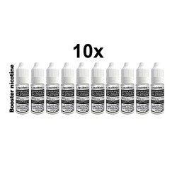Booster de Nicotine Liquideo 20 mg Pack de 10