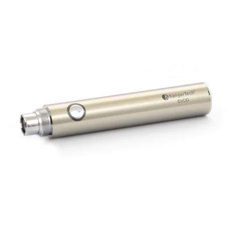 Batterie Kangertech EVOD 650 mAh Inox - LIQUA