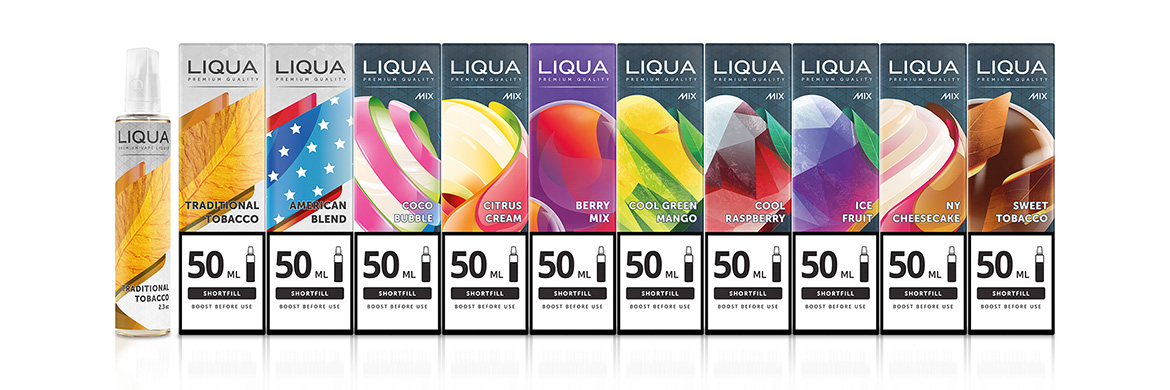 LIQUA Short Fill 50 ml