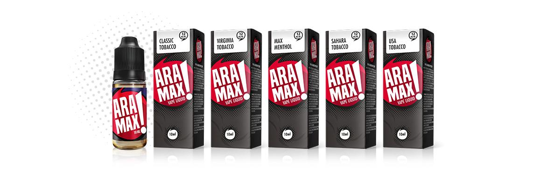 E-liquides ARAMAX Pack de 5