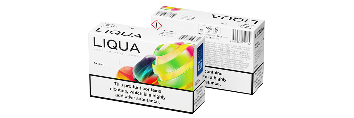 LIQUA Packs of 5 & 10